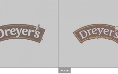 Novi logotip i ambalaža za Dreyers i Edy's sladolede.